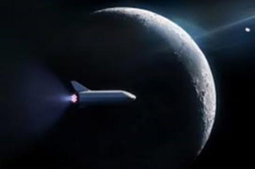 马斯克发文 SpaceX星际飞船原型亮相