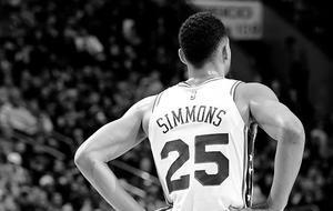 西蒙斯毫无进步仍旧0投篮能力