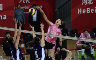 中国女排超级联赛第八轮第40场 河北女排0-3