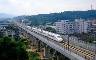 定了!新建成都至雅安铁路28日开通运营