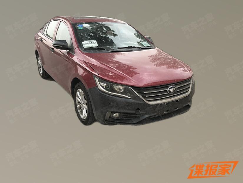1.0T+6MT动力总成 骏派A50疑似新车款曝光