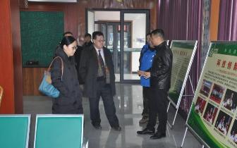 河南省文化产业发展研究院院长戴松成莅临豫坡集团调研指导