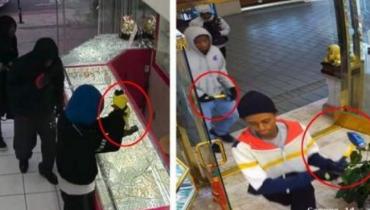 多家华人珠宝店连续被抢 疑似被团伙盯上