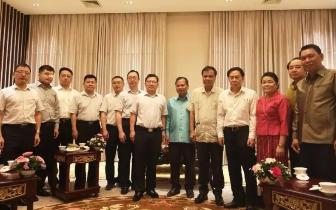 湘潭市代表团访问老挝、泰国纪实