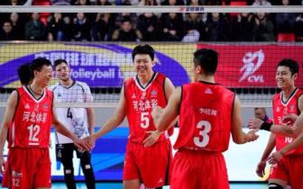 中国男排超级联赛第11轮第70场 河北男排3:2