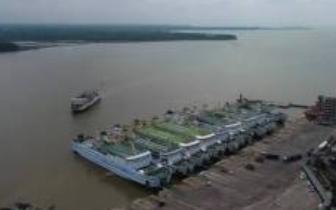 海安航道整治工程通过竣工验收 通航能力升级!