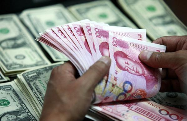 2018年先涨后跌 人民币对美元中间价全年贬值5.04%