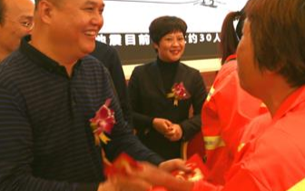 冬日湛江依然温暖,爱心企业情系环卫工人