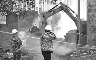 快准狠!吴川市拆除263家违建废品收购站