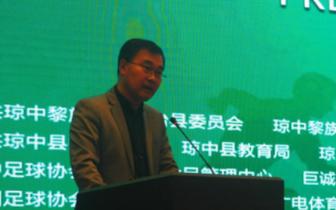 刘平久:省旅文厅从5个方向支持琼中发展足球产业