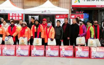 【郑州】体彩爱心业主为城市美容师送温