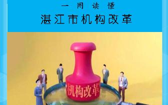 【重磅】一图带你读懂湛江市机构改革