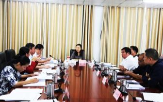 琼中县召开2018年县委常委会第31次会议