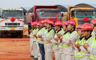 玉湛高速公路房建工程进入实质性建设阶段