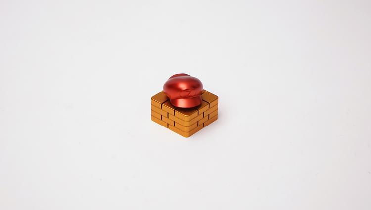 """Z0M0""""马里奥键帽""""上手体验 能减压的键帽了解一下?"""