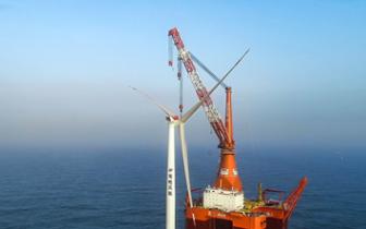 粤电湛江外罗海上风电二期项目开工