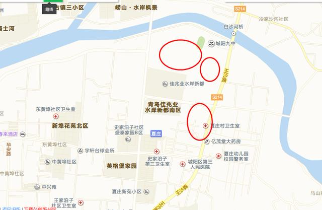 城阳夏庄一次性挂牌13宗地块近39.44万㎡