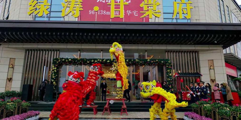 绿涛-甘棠府展示区12月30日盛大绽放