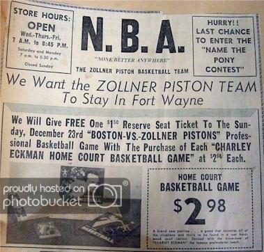 早年NBA比赛门票极其低廉