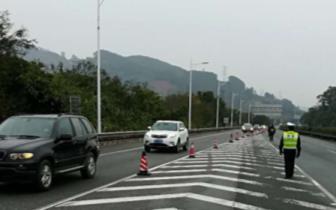 冰封京珠北!全线双向全封闭,车辆分流至乐广高速
