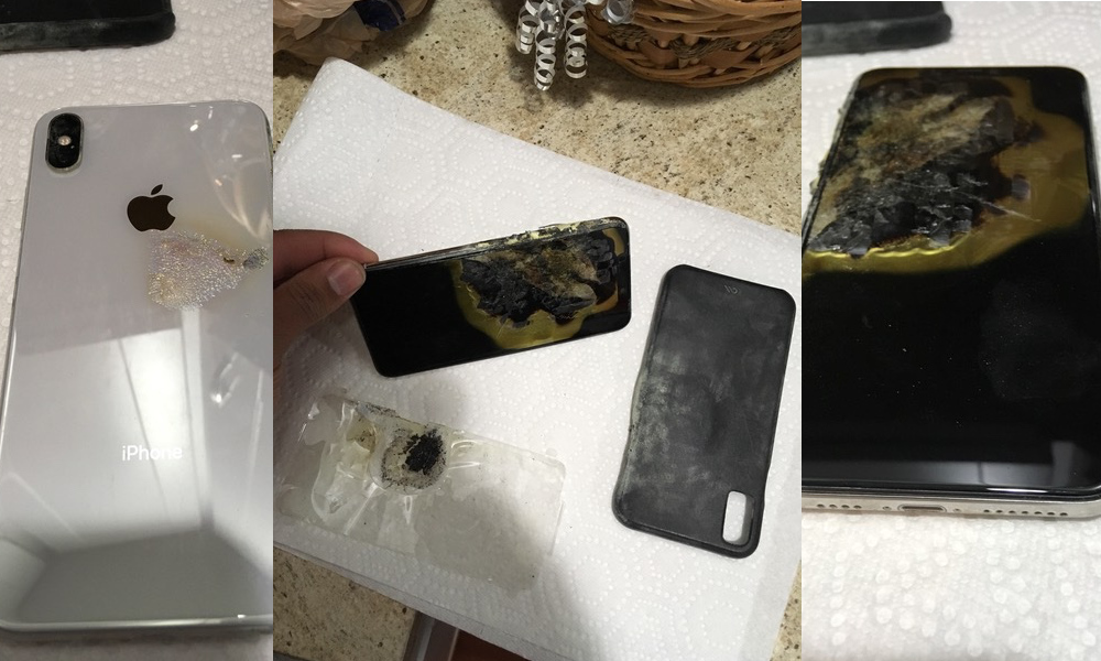 iPhone XS Max首次被报道自燃 客服:只能换新机