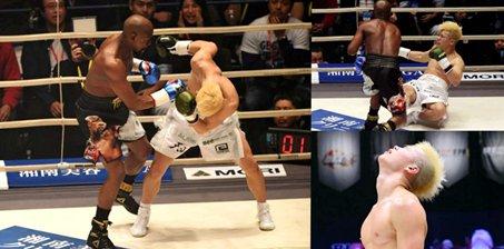 梅威瑟重拳KO日本格斗天才 对手惨败后痛哭