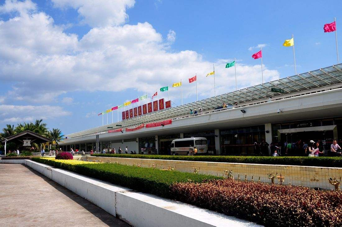 资料图:三亚机场