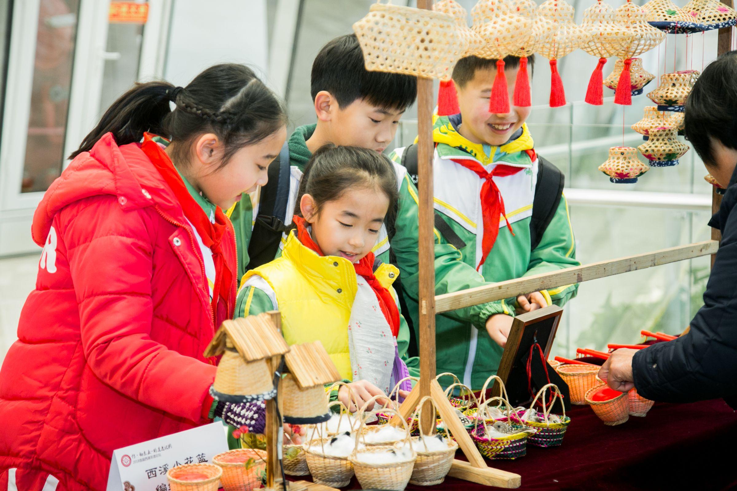 杭州西湖区23所学校都有非遗课程了