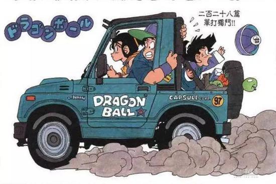 七龙珠里面那台? 铃木推吉姆尼两款概念车