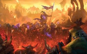 《魔兽》玩家手绘亡灵法师 素描绘本升级全过程