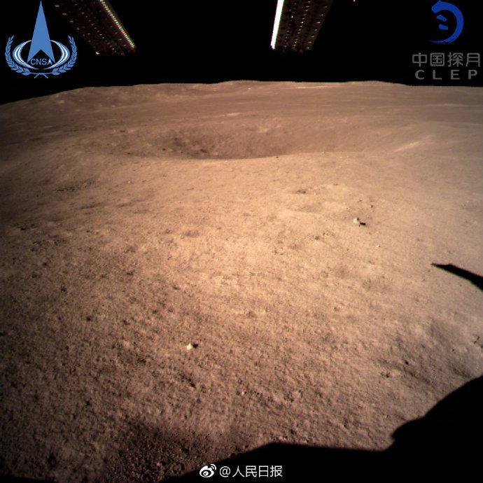 嫦娥四号成功着陆:看,这就是月亮的背面