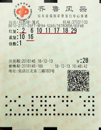 淄博彩民喜获655万元大奖 跑投注站求证是否中奖