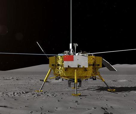 落月前绕月飞行了20多天,嫦娥四号在忙啥?