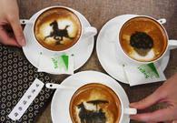 甘肃博物馆现文物咖啡