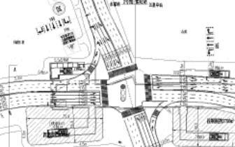 地铁2号线紫阳站进行附属4号出入口交通导改