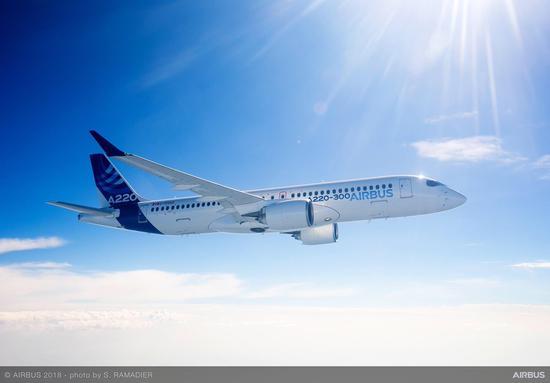 2018年空客交付790架飞机 略低于800架目标