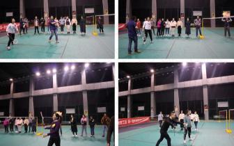 重庆眼视光眼科医院——第一届冬季趣味羽毛球追逐赛完美落幕