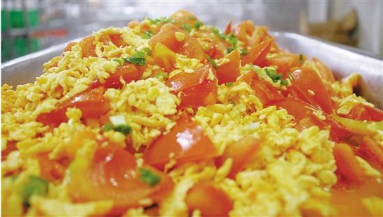 杭州一高校食堂番茄炒蛋成爆款