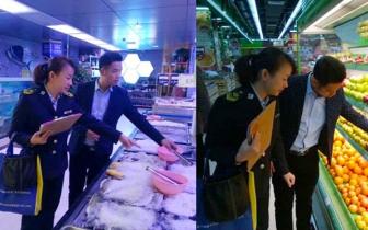 """琼中县食药监局元旦期间食品安全 寒风细雨开展""""亮剑""""行动"""