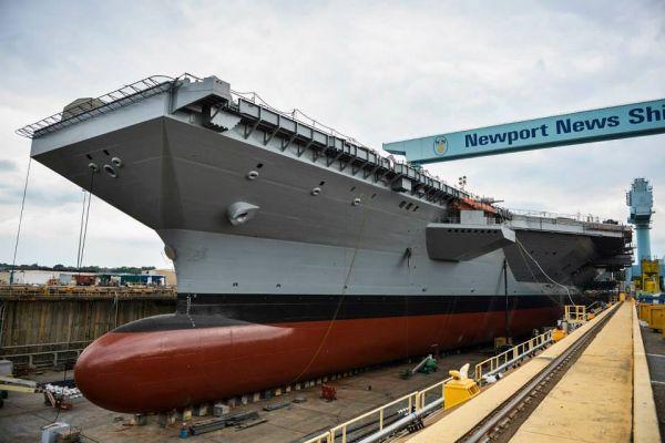美将同时采购两艘核动力航母 可节省约40亿美元