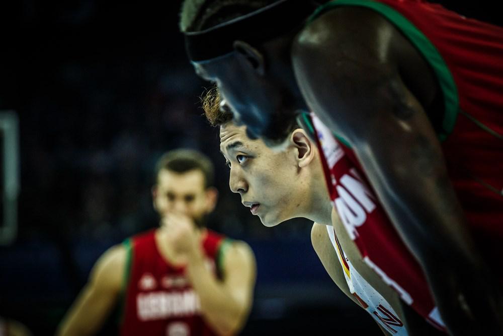 沈梓捷在世预赛与黎巴嫩的比赛中