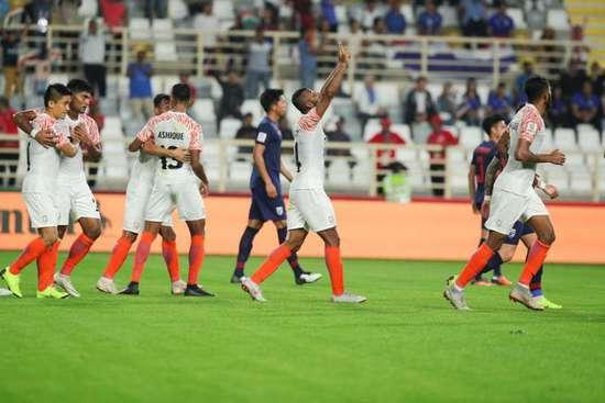 亚洲杯-创造历史!印度4-1虐泰国 迎亚洲杯55年首胜
