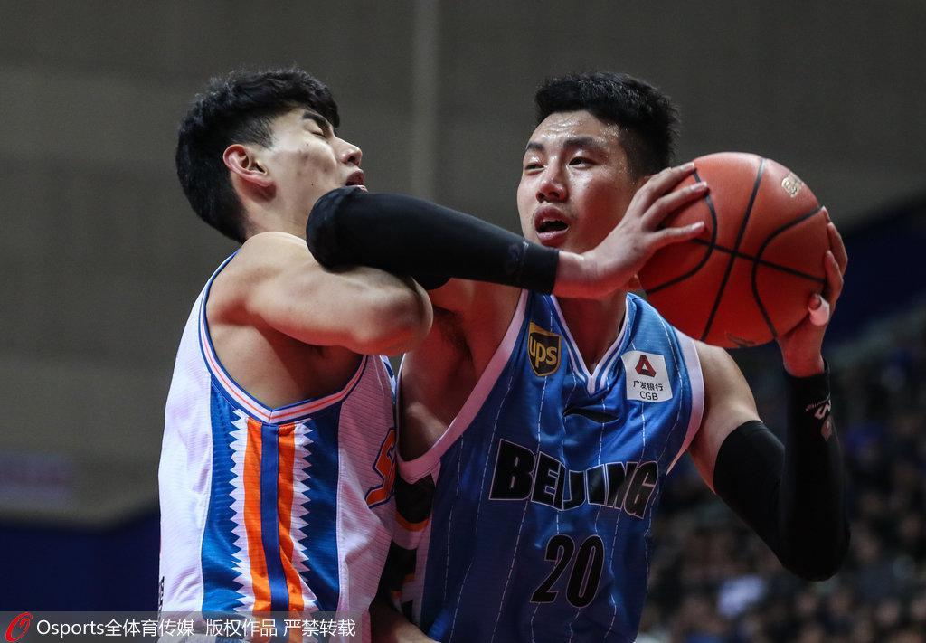 上海负北京苦吞5连败 杰克逊32+4+9翟晓川16分