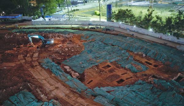 中山大学内古墓葬涉汉明清等多个朝代 受破坏严重
