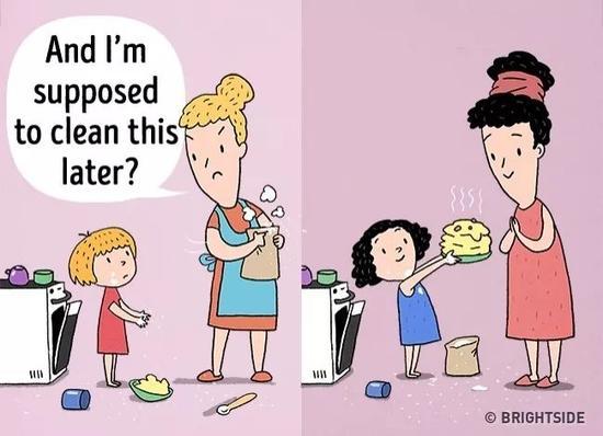 普通父母和优秀父母的10个差别 快来对照一下