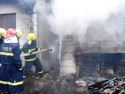 火灾|隐患不整改酿火灾,禅城一工地负责人被行拘