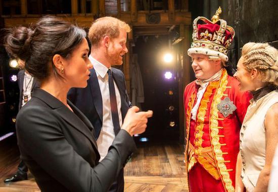 梅根即将接手第一份英国王室工作 外媒:天作之合