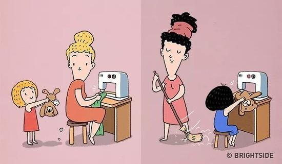 普通爸妈一看到孩子有需求就马上答应帮忙,不分事情大小。