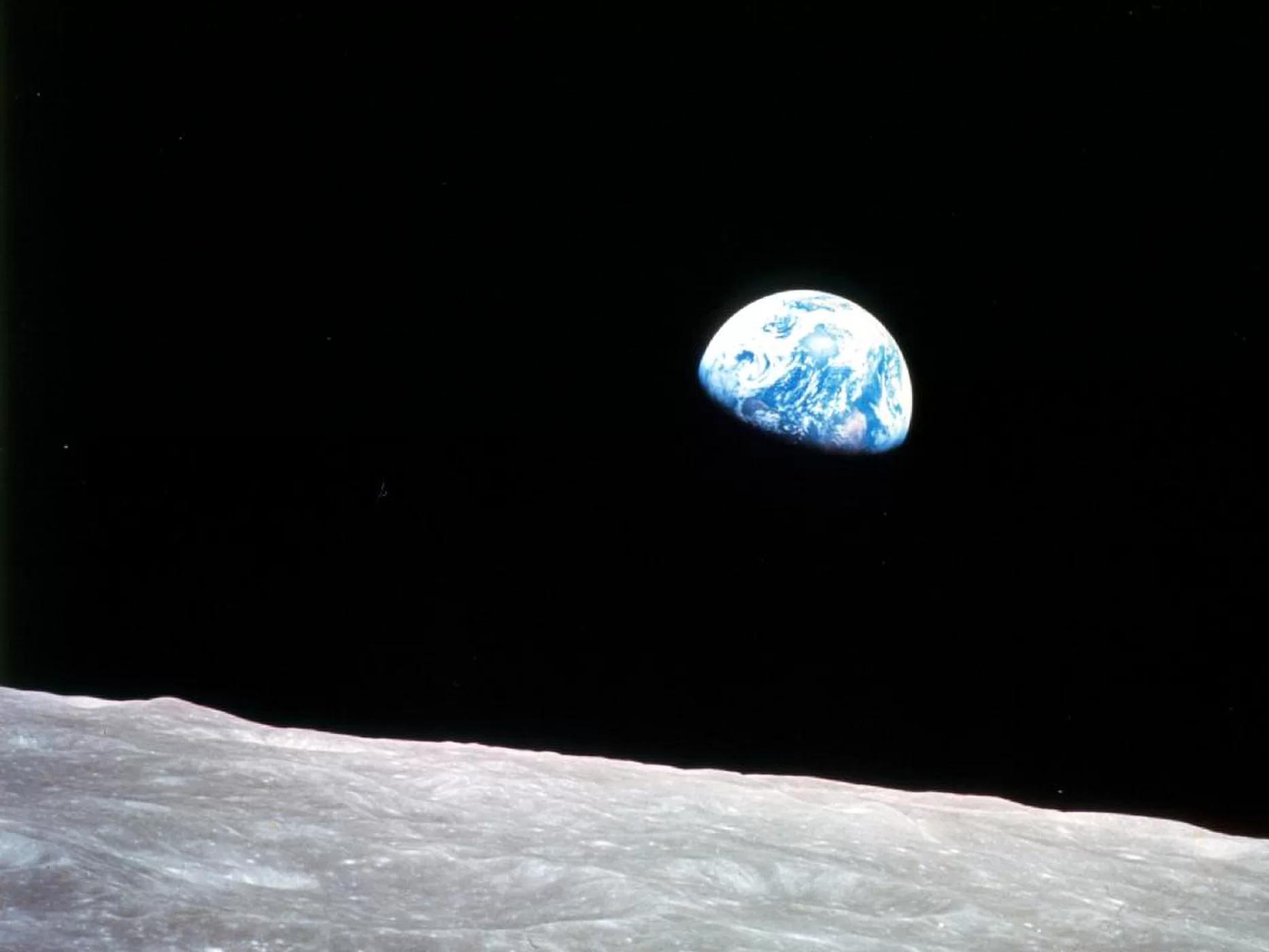 人类探月系列文章(七):宇航员在圣诞节进入月球轨道