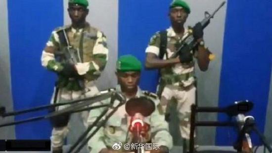 总统海外养病加蓬兵变未遂 政府称已控制局势